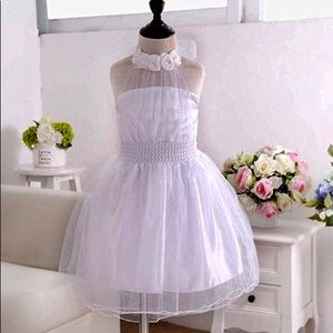 Other - New! Princess White Bridal Party Pageant Dress 8/9